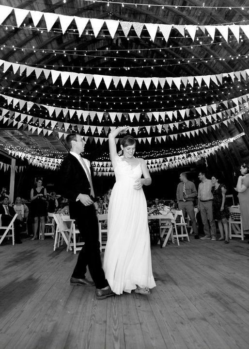 To Help Spruce Up Rehearsal Dinner Hall White Lights Pennant Banner Combo