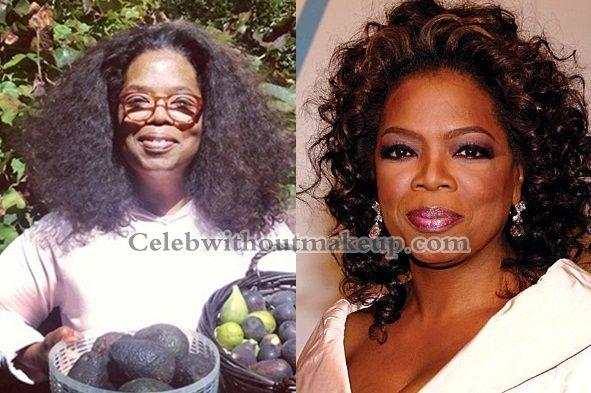 Oprah Winfrey 2013 No Makeup Oprah No Makeup I real...