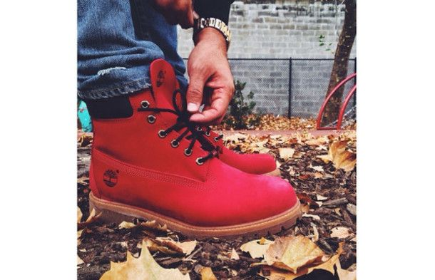 red nubuck timberlands | shoes boots timberland timberland winterboots red gradeschool redtimbs ...