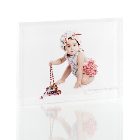 Personalised 75 x 100mm Acrylic Photo Block