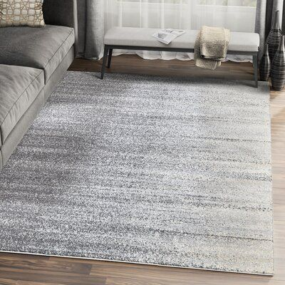 Orren Ellis Sumter Gray Area Rug Rug Size Rectangle 7 9 X 10 2
