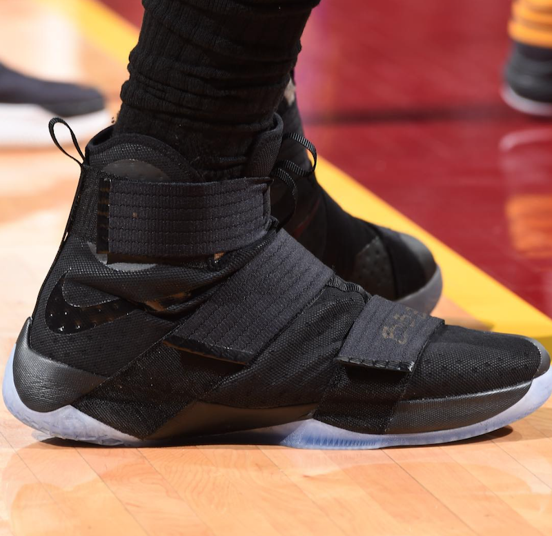 LeBron Reveals The Nike LeBron Zoom Soldier 10 In Game 3 Of The NBA Finals