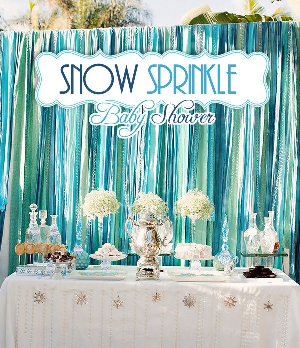 ~Great background scenry~ Use Streamers & attach them to an extension rod -Overlap them several times though so that it will look full- and place infront of windows (like a set of 2/3 windows that are side by side) instede of a curtain