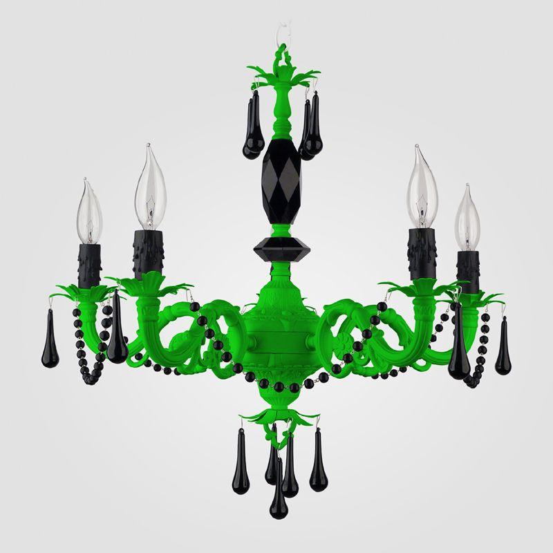 Faith neon green black crystal chandelier lights pinterest faith neon green black crystal chandelier aloadofball Choice Image