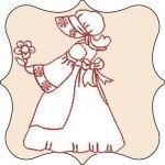 Holiday Sun Bonnet Sue #sunbonnetsue Holiday Sun Bonnet Sue #sunbonnetsue