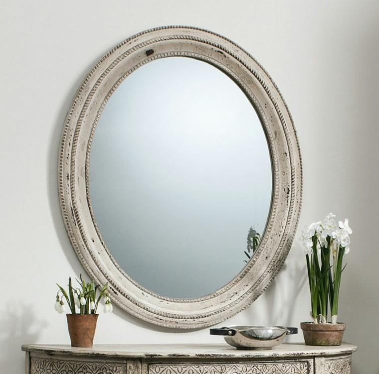 Vintage Spiegel Retro Style Design In 2020 Ovaler Spiegel