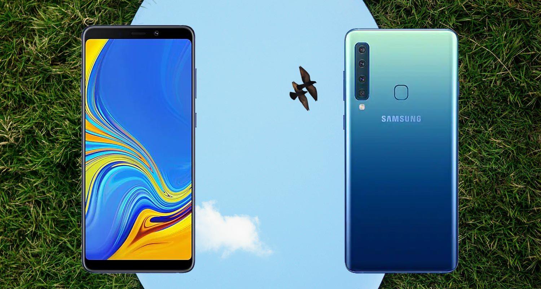 How to Take Screenshot in Samsung Galaxy A9 2018 Samsung