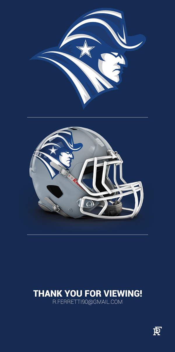 Enjoy my concept logo for the Dallas Cowboys! Let me know