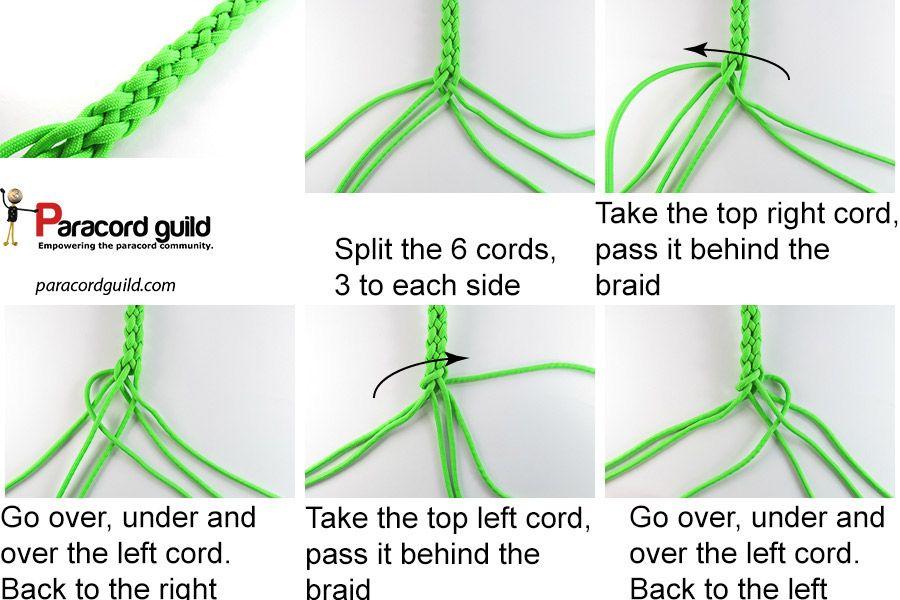 6 Strand Round Braid Paracordguildcom Leather Work