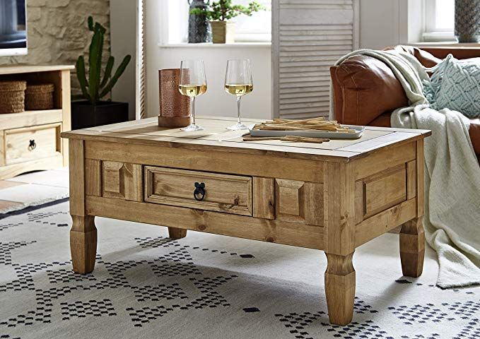 House of Cotswolds Couchtisch Corona, mexikanisches Kiefernholz