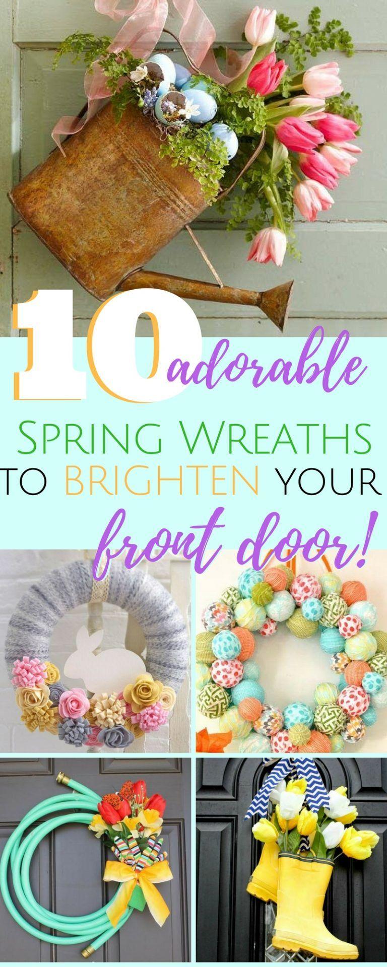 Photo of Unique spring wreath ideas