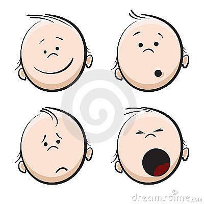stock images baby cartoon face image 11329444 dibujos