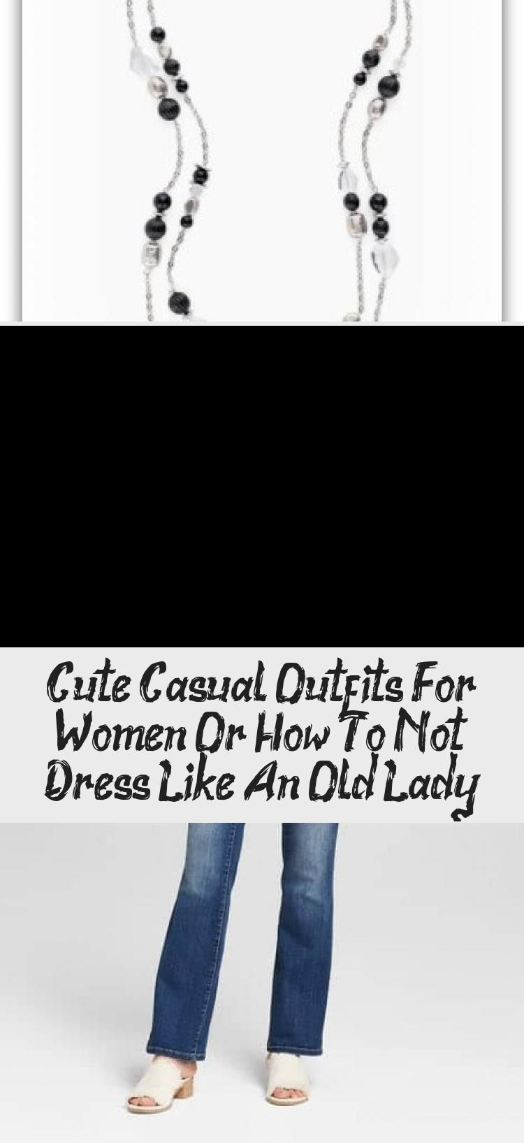 Cute casual outfits for women that are simple comfy and of course not for old ladies Everyday womens outfits for work play or the weekend Women over 50 will find somethin...