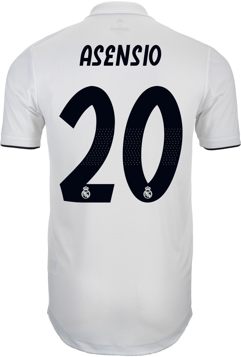 4fd312149 adidas Marco Asensio Real Madrid Home Authentic Jersey 2018-19 in ...