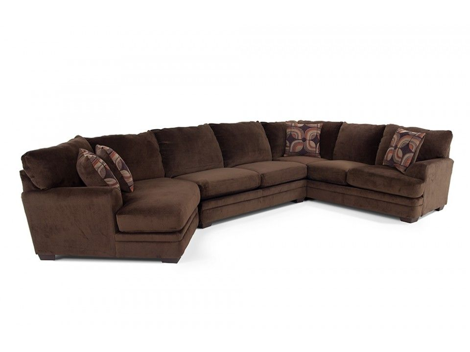 Best Charisma 3 Piece Sectional With Left Arm Facing Cuddler 640 x 480