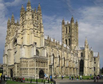 Canterbury - Canterbury Cathedral is the seat of the Archbishop of Canterbury, head of the Church of England and leader of the worldwide Anglican communion.