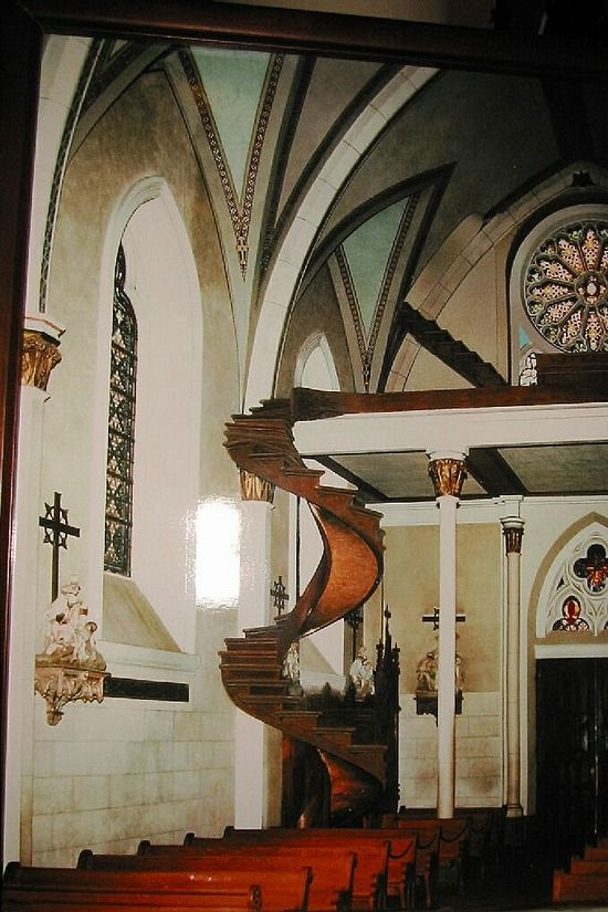 Best Cathedral Stairs Open Looks Like Someone Could Fall 640 x 480