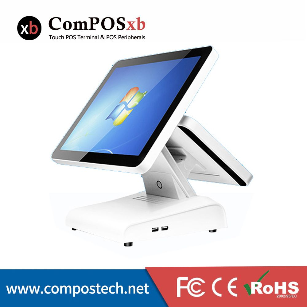15 Inch Pos Terminal All In One Pos System Touch Screen Pos Machine Cash Register Manufacturer Supplier Dual Scr Touch Screen Computer Computer Peripherals