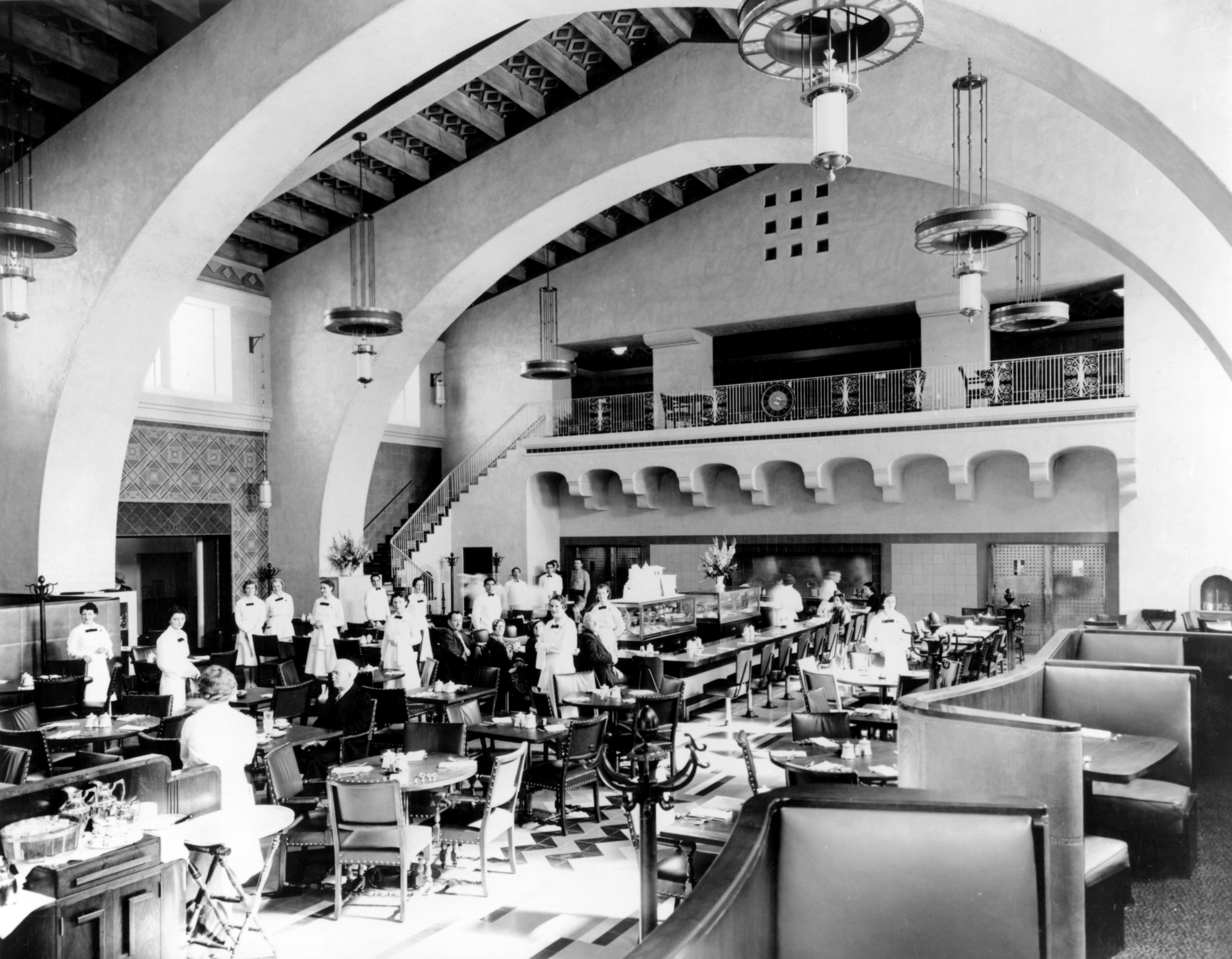 Union Station A Grand Opening Union Station Los Angeles Harvey House