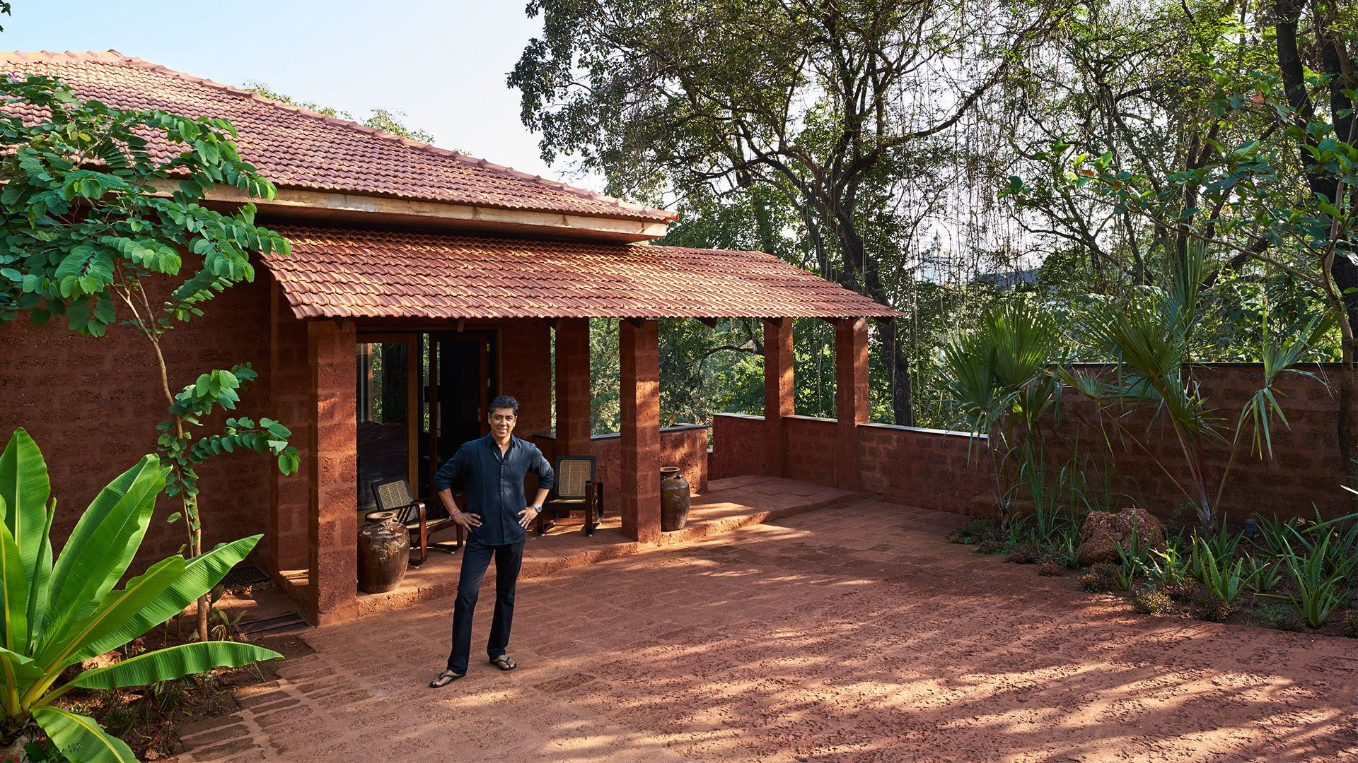 Stepping Away From The Conventional Vikram Goyal S Holiday Home