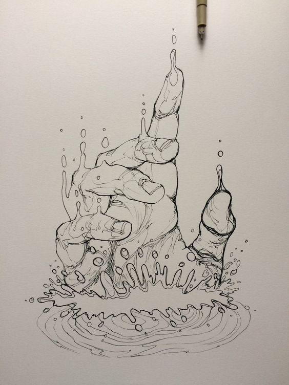 Zeichenideen - Skizze - #Drawing #Ideas #sketch - #drawing #ideas #sketch #Skizze #zeichenideen - #new