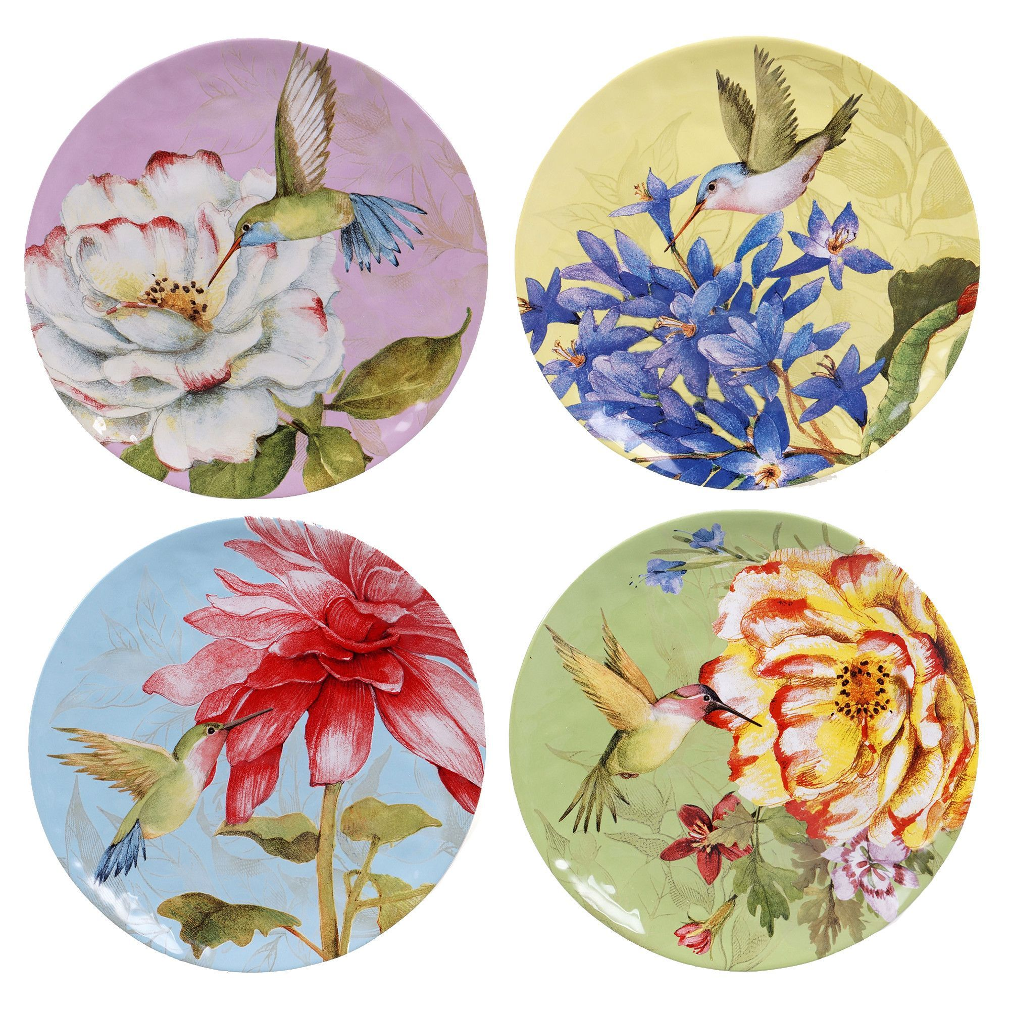 Certified international parisian fruit canister by susan winget set - Certified International Floral Bouquet Dinner Plates Set Of Multicolor