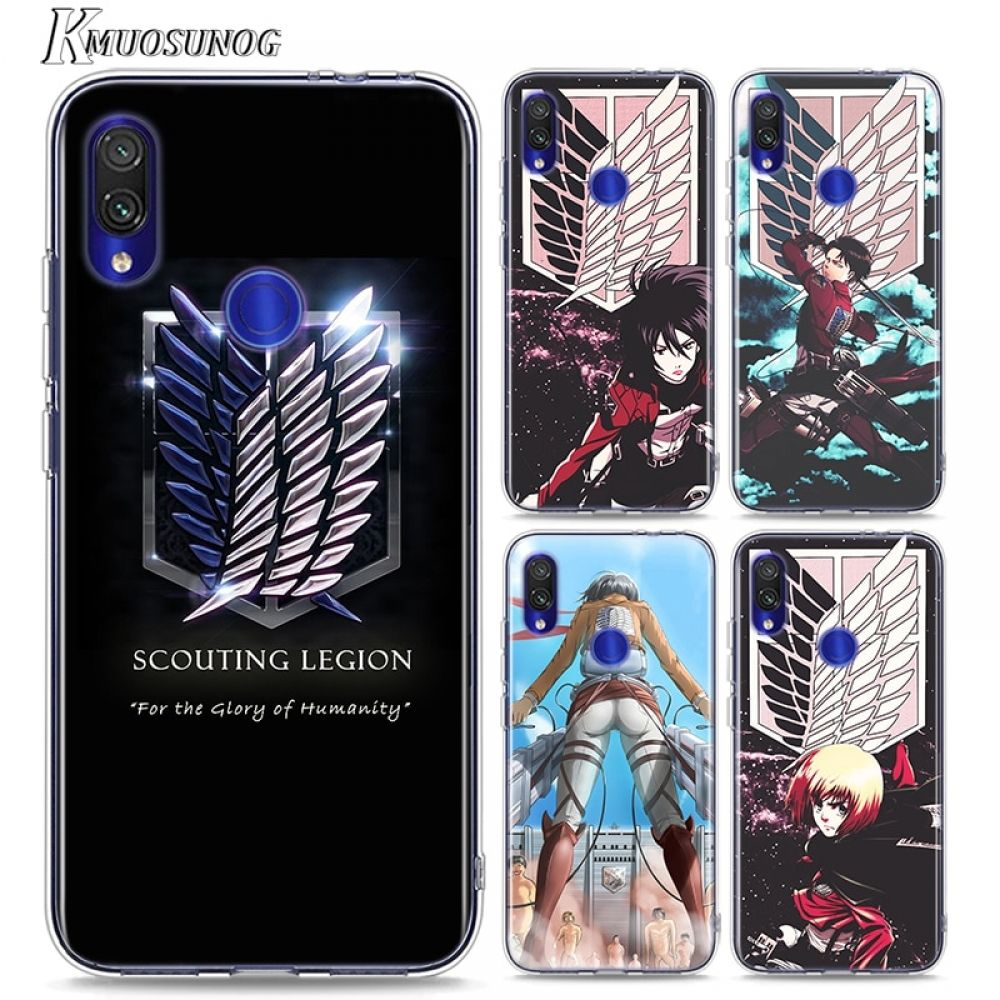 Attack on Titan Soft TPU Case Cover for Redmi Phones for only $9.99 & FREE Shipping Repin to your B
