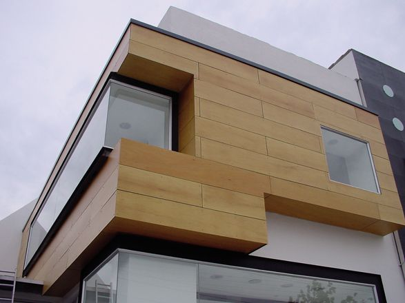 exterior wood panels. | Materials | Pinterest | Woods and Facades
