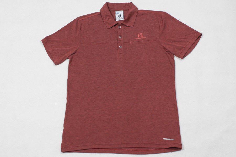 Salomon Polo Hemd Shirt Skjorta Camicia Gr S Advanced Skin Active Dry Perfekt Shirts Polo Skin Active