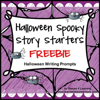 keep kids writing these halloween story starter ideas  keep kids writing these halloween story starter ideas