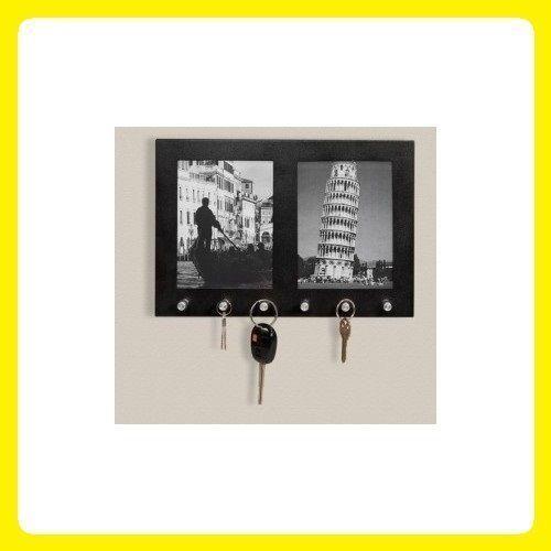 office key holder. Picture Frame Key Holder Hook Decor Wall Mount Organizer Home Office Keys Hooks T