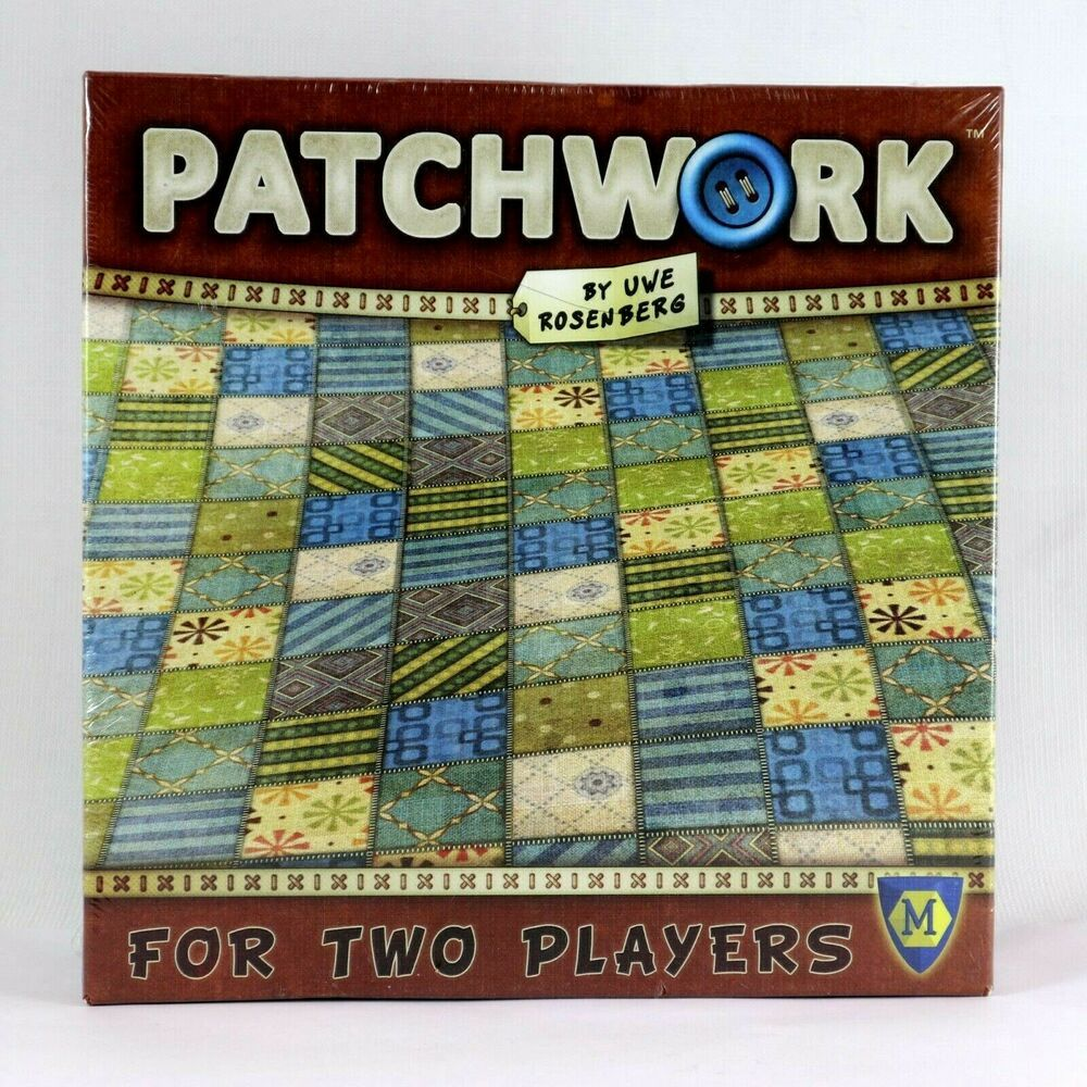 Patchwork Board Game By Uwe Rosenberg Mayfair Games USA