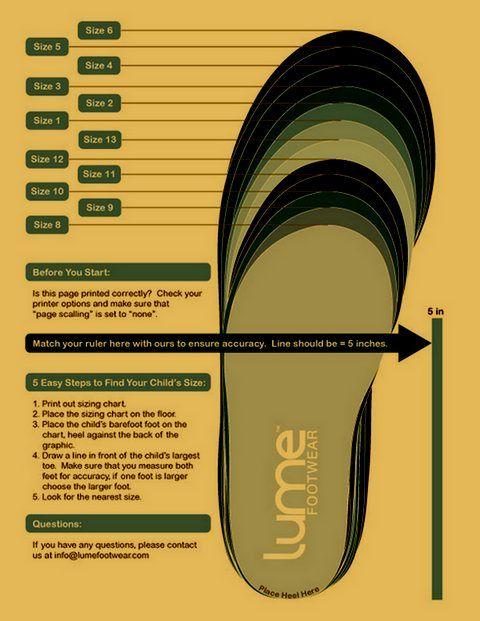 shoe size chart youth n 228 hen schuhe