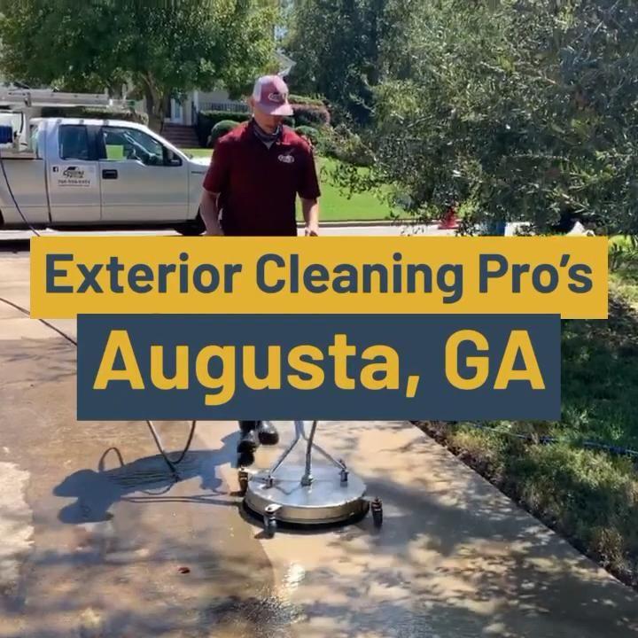 Amazing Pressure Washing Results In Augusta Ga Video In 2020 Pressure Washing House Wash Augusta