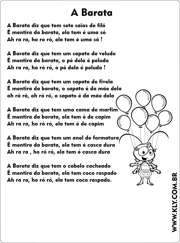 Letras De Musicas Infantis Coloridas Musicas E Cantigas Temas