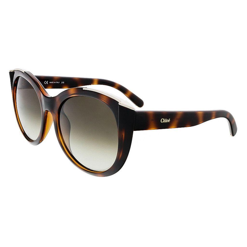 Chloe Tortoise Cat Eye Chloe sunglasses
