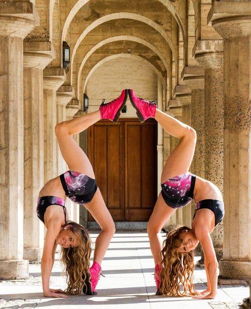 2 Person Yoga Poses Rybka Twins Acro Yoga Poses Handcuffed Pawo This Yoga Pose Is More Energizing Than Acro Yoga Poses Gymnastics Poses 2 Person Yoga Poses