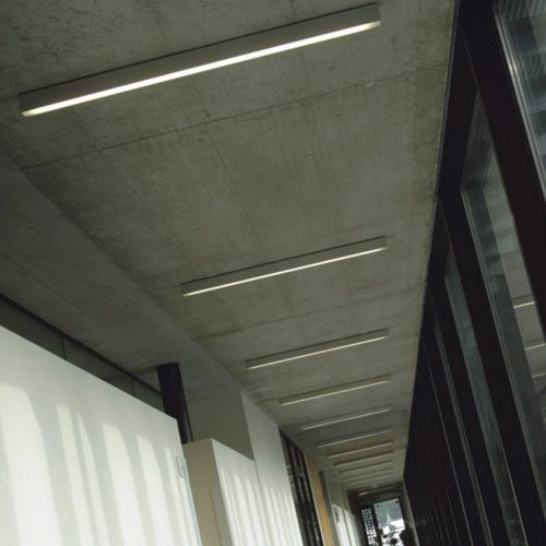 3 Interior Linear Surface Mounted Fluorescent Lights Surface