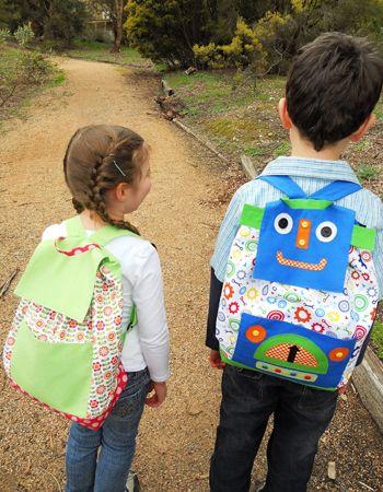 Free Let\'s Go! Backpack Pattern & Tutorial | Rucksack anleitung ...