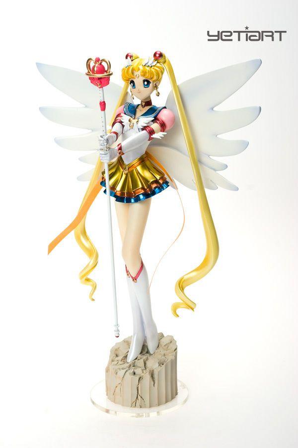 Eternal Sailor Moon Custom Painted Resin Garage Kit Anime Model Yetiart Figure Sailor Moon Toys Sailor Moon Merchandise Sailor Moon Collectibles