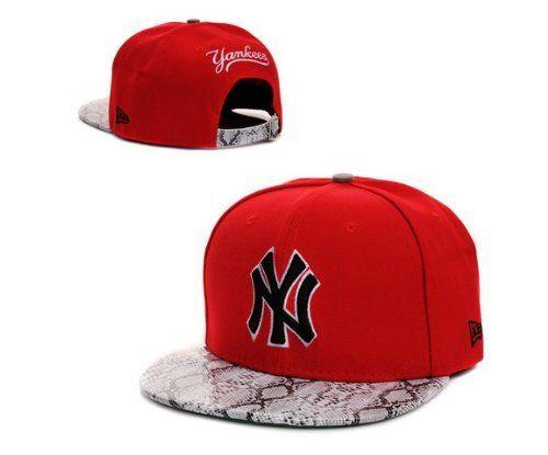 34b29911751 NEW New York Yankees Hat Snapback Cap Snakeskin Red by New York Hat Club