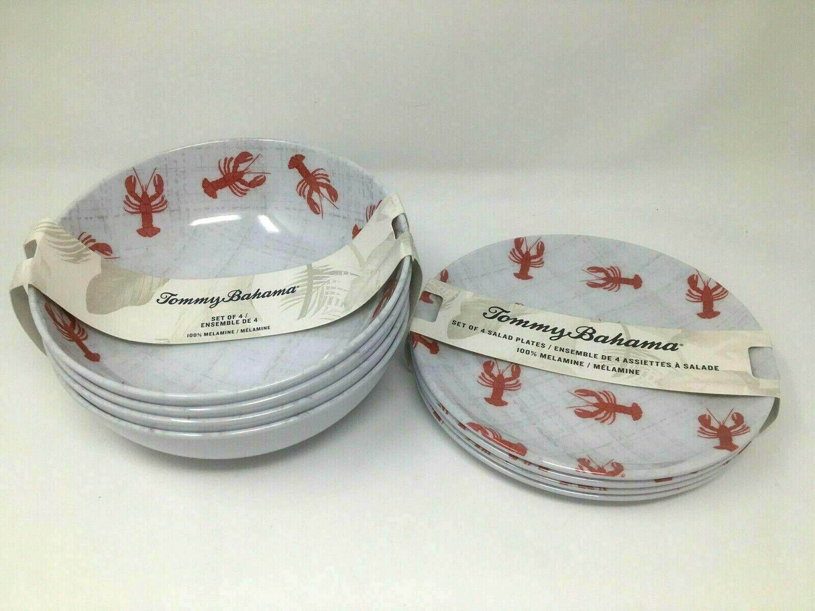 Tommy Bahama Melamine Indoor / Outdoor Dinnerware Sets LOBSTERS (See Choices)  - Dinnerware - Ideas of Dinnerware #Dinnerware #casualdinnerware Tommy Bahama Melamine Indoor / Outdoor Dinnerware Sets LOBSTERS (See Choices)  - Dinnerware - Ideas of Dinnerware #Dinnerware #casualdinnerware