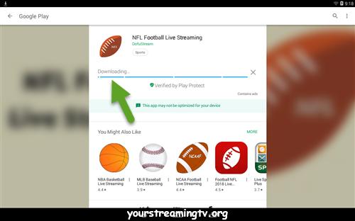 NFL Football Live Streaming APK APP Download & Install