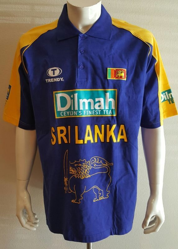 New Sri Lanka Cricket Vintage Polo Xl 1996 World Cup Vintage Polo Polo Cricket Store