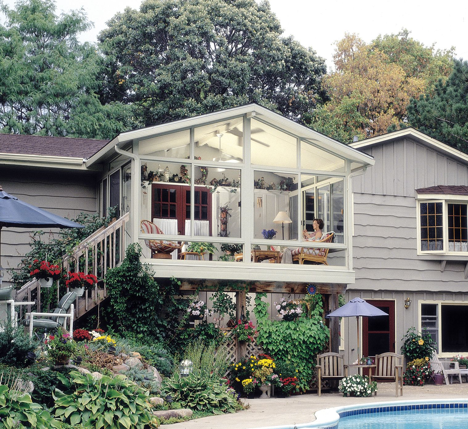 betterliving sunrooms builds right on top your deck or patioeven second
