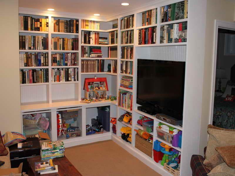 How To Build Built In Bookshelves