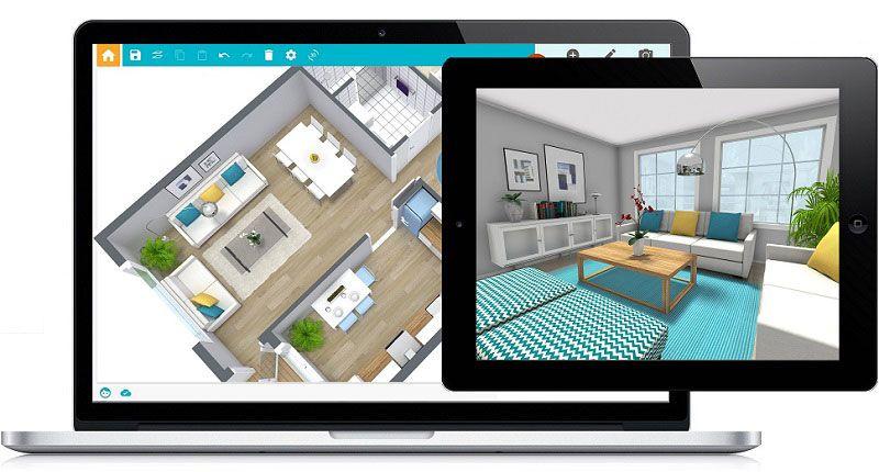 Roomsketcher Online Home Design Create Floor Plan Interior Design Software
