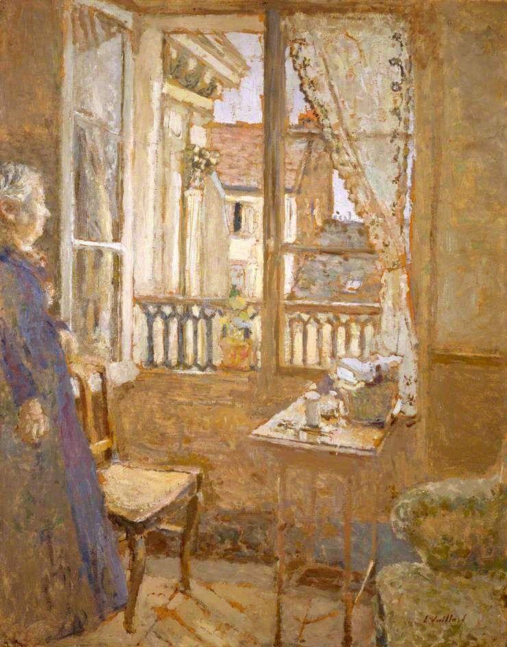 The Open Window, 1902 ~ Édouard Vuillard ~ (French 1868-1940