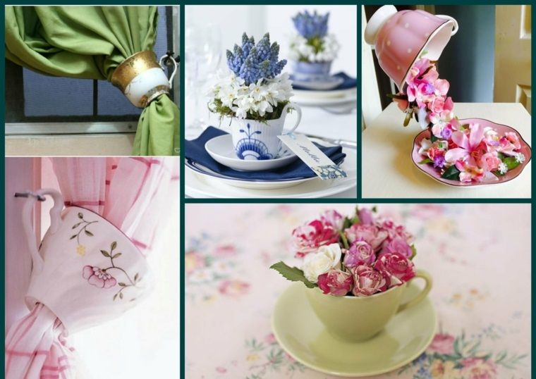Trabajos Manuales 33 Proyectos Interesantes Teacup Crafts Tea