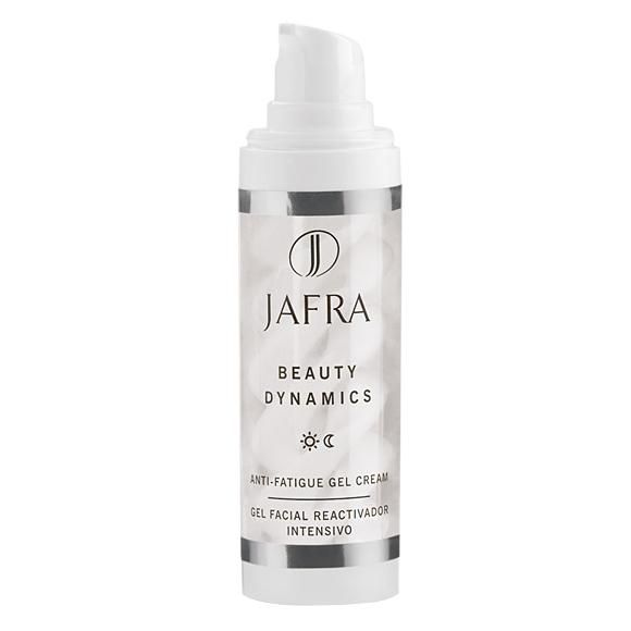 JAFRA Anti-Fatigue Gel Cream.  A luxurious and energizing gel-cream that diminishes the signs of facial fatigue.